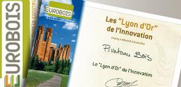 La terrasse Bois composite Wex recoit le prix de l'innovation 2009 au salon Eurobois