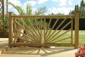 Naturalne i przewiewne, ogrodzenie Roseaux