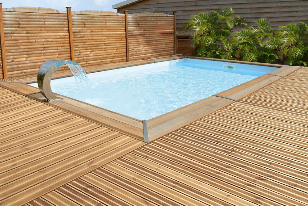Piscine Maéva rectangle - Durapin - PIVETEAUBOIS