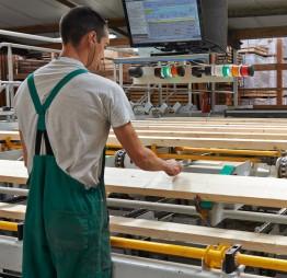 Site de production de l'entreprise Piveteaubois