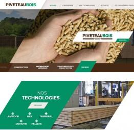Nouveau site institutionnel piveteaubois.com
