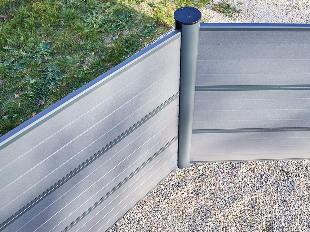 Panneaux cl tures piveteaubois Cloture bois composite
