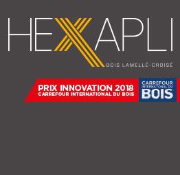 PIVETEAUBOIS a reçu le Trophée de l'Innovation pour le lancement de son CLT Hexapli
