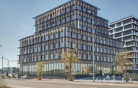 Le plus haut immeuble en structure bois de France - Perspective
