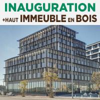 Inauguration du plus haut immeuble à ossature bois de France
