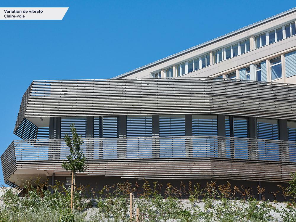 Lycée Lebrun - Coutance (50) - Architecte : Agence SCHNEIDER ARCHITECTES