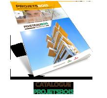 Je consulte et télécharge le catalogue PROJETSBOIS en ligne.