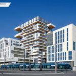 HYPERION, Bordeaux (33) PLANCHER CLT HEXAPLI 5 000 M² - Réalisation : Eiffage Construction | Architecte : Jean-Paul Viguier & Associés